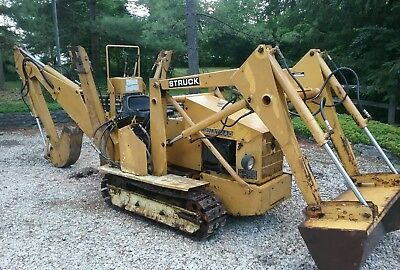 1992 STRUCK MAGNATRAC HYDRO 5000  Trackhoe & Front Loader, 20 HP