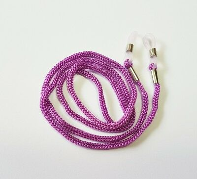 Purple cord sunglasses reader Eye glasses spectacle lace lanyard strap string