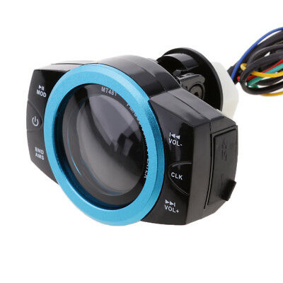 Motorcycle Audio Radio Stereo Speakers MP3 FM/TF/USB Sound System 12V