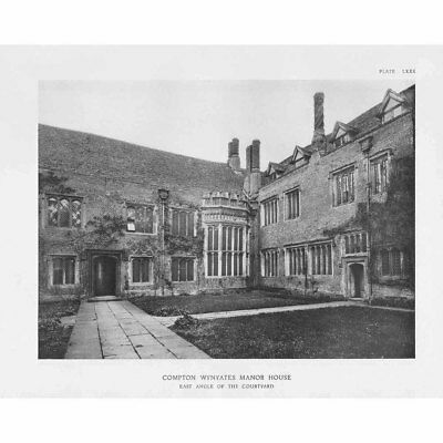 """Kings County NYC /""""The Van Pelt Manor House/"""" © 1909 Reprint Vintage Photography"""