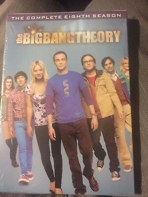 The Big Bang Theory: The Complete Eighth 8 EIGHT Season (DVD, 2015)BRAND NEW