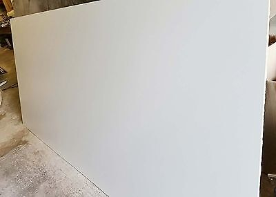 5 of 1200 x 600 Sheets White Formica Veneered MDF (both sides) - 9mm Thick