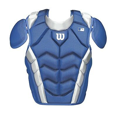 (39cm , Royal) - Wilson Pro Stock Chest Protector. Shipping is Free