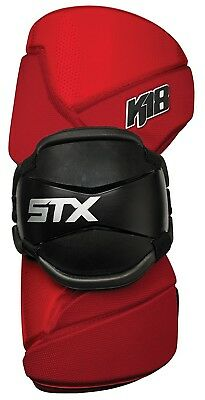 (Large, Red) - STX Lacrosse K-18 Armguards. Free Delivery