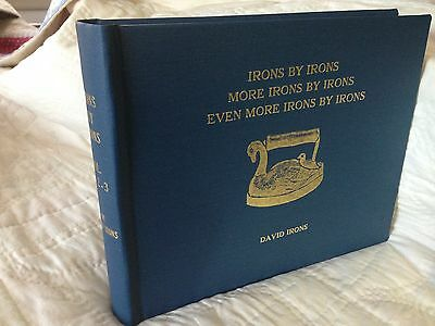 Sad Iron book--Limited Edition with all three Volumes by Dave Irons