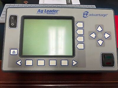 Ag Leader PF Advantage Display 3001140 Yield Monitoring Excellent Condition
