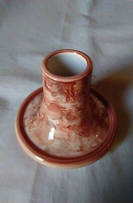 Jersey Pottery - Candlestick / Candle Holder 7x8cm