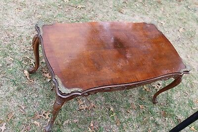 Antique Ornate Coffee Table