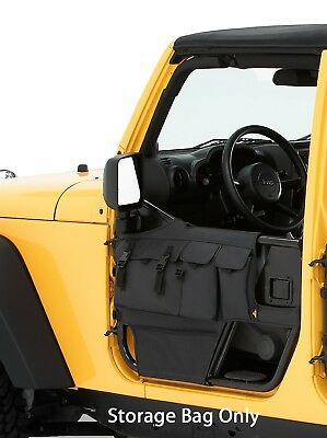 Bestop 51813-35 HighRock 4x4 Element Door Storage Bag Fits 07-17 Wrangler (JK)