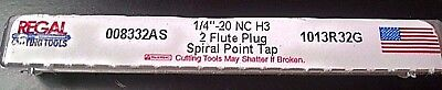 Regal Cutting Tools  Spiral Point Taps  1/4-20  High Speed   Made In Usa !!!!!!!