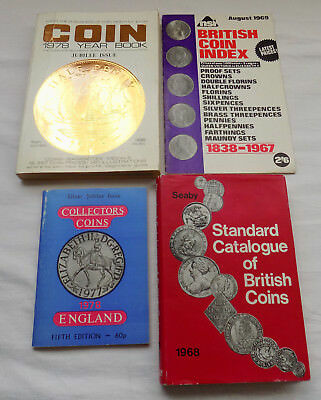 Mixed Lot of Vintage Coin Booklets Books Catalogues
