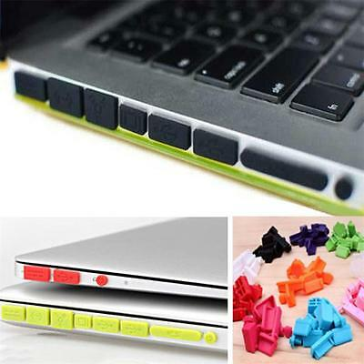 Silicone Rubber Anti-Dust Plug Cover Stop for Mac Book Air Retina 11 13 Ports CA