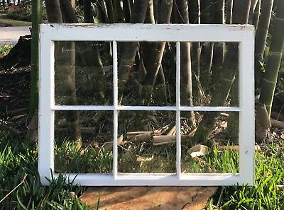 Antique Shabby Chic glass panel old. Old windows. Wedding ideas. Home decor.