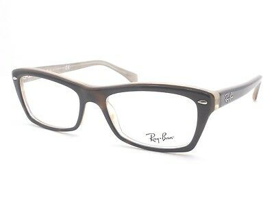 790fae7c27 RAY BAN RB 5255 5075 Havana Beige Eyeglass New Authentic Frames ...