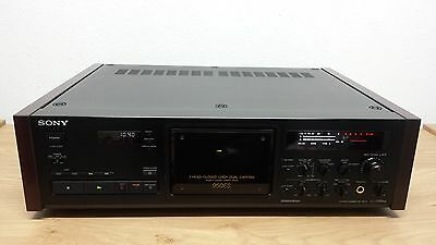 Sony TC-K950ES Black Supreme High-End Stereo Cassette Deck *New Pinch Rollers*