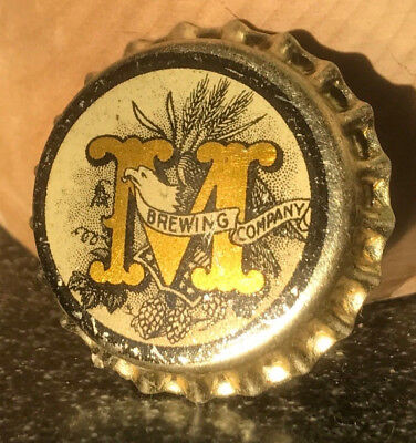 Pre-Prohibition Montana Brewing Co. Early Beer Cork Bottle Cap Great Falls, MT