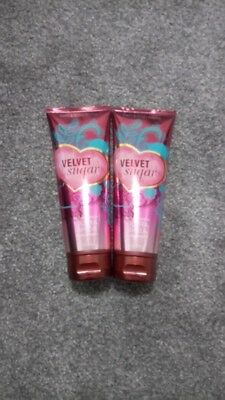 Bath and Body Works Velvet Sugar 2 x Shea Creams