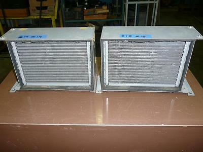 Najico Heat Exchanger Copper Tube & Fins Radiators - Lot of 2 - Japan