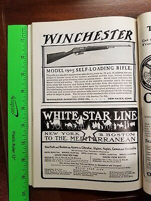 1905 Winchester Self-loading Rifle Ad Outlook Magazine