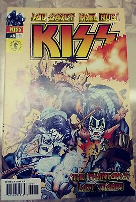 Kiss #6 Dark Horse Comics (Joe Casey Mel Rubi 2002)