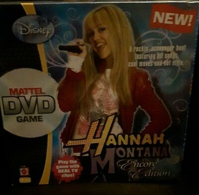 Disney Mattel DVD game Hannah Montana encore edition.170457