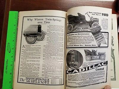 1905 Ford Motor Co. Model F Ad Outlook Magazine