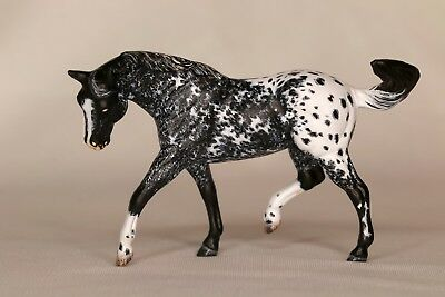 Custom CM Breyer Stablemate Hair by Hair Appaloosa Ranch Horse  by DeeJayBe
