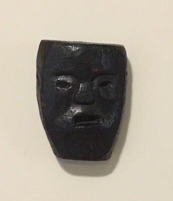 Old African? Hand Carved Wooden Mask Very Nice Quality