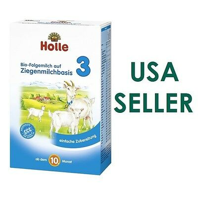 Holle Organic Goat Milk Baby Formula Stage3 , 6 boxes, FREE Shipping exp01/2019