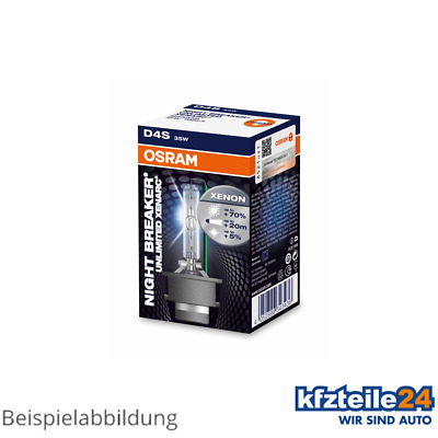 Osram | Xenonbrenner D4S Xenarc® Night Breaker® Unlimited 35W [12V] (66440XNB)