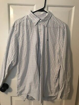 Lot of mens size large button down shirts