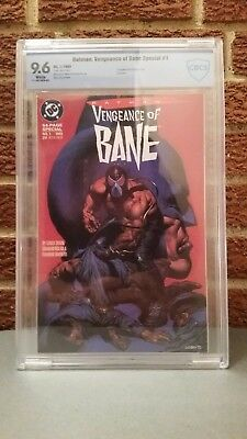 Batman Vengeance of Bane Special #1 (1993). First Appearance of Bane (CBCS 9.6)