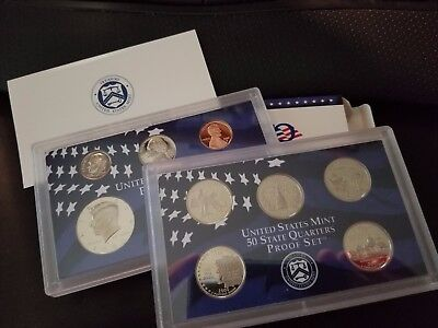 2000 S US Mint Proof 10 Coin Set