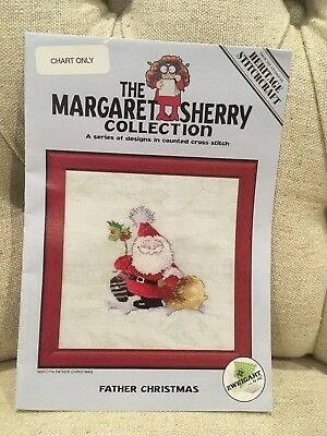 Cross stitch pattern - Margaret Sherry - Father Christmas