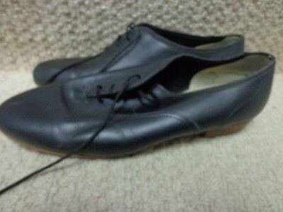 Ms. Stomper  WOMENS Clogging Tap Dance Shoes,  BLACK, size 8? 8.5?