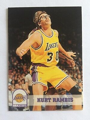 1994 SkyBox NBA Hoops Basketball Card #355 Darrell Rambis Los Angeles Lakers