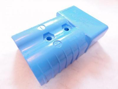 165201 New-No Box, Anderson 912 Blue Battery Connector Housing, 350A, 600V