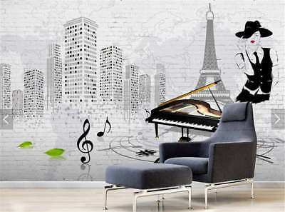 Sober Snow And Tower 3D Full Wall Mural Photo Wallpaper Printing Home Kids Decor