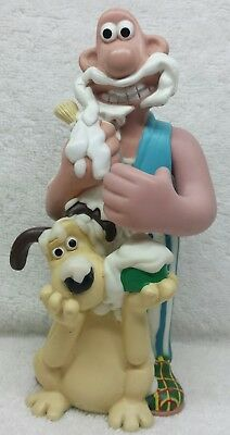 1989 Wallace and Gromit figurine statue EUROMARK ENGLAND