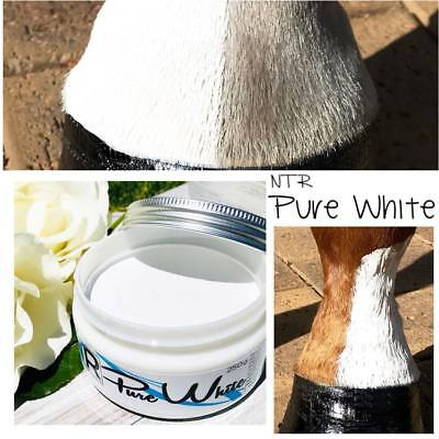 NTR Pure White 250g tub Horse Pony Show Preparation