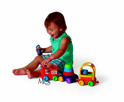 Little Tikes Discover Sounds Sort and Stack Train  *   Brand New