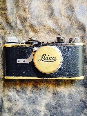 1930 Leica 1A 35mm Vintage Camera with Case