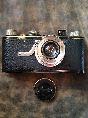 1929 Leica 1A 35mm Camera with Case and Range Finder