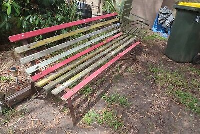 outdoor bench seat