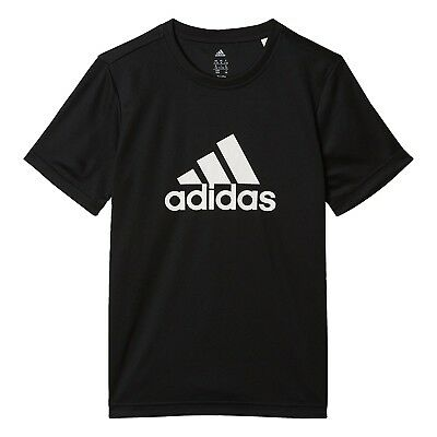 (noir/blanc, 140) - T-shirt junior adidas Gear Up. Delivery is Free