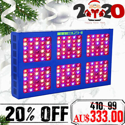 MEIZHI Reflector 900W LED Grow Light DWC Full Spectrum Veg Bloom Indoor plants