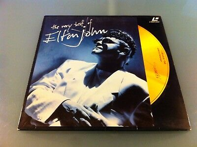 "Laser Disc - Elton John ""The Very Best Of"" Usato Come Nuovo"