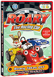 Roary The Racing Car - Roary Takes Off (DVD, 2008) Job Lot X 25 New and Sealed