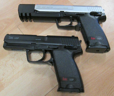 Umarex Airsoft Softair Pistole Heckler & Koch USB, Compact, Match oder Magazin.