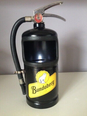 BUNDABERG RUM Extinguisher ASH TRAY or BOTTLE TOP CONTAINER with Opener-BUNDY